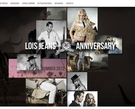 loisjeans.com site design