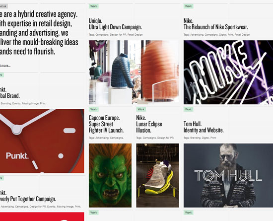 rosielees.co.uk site design