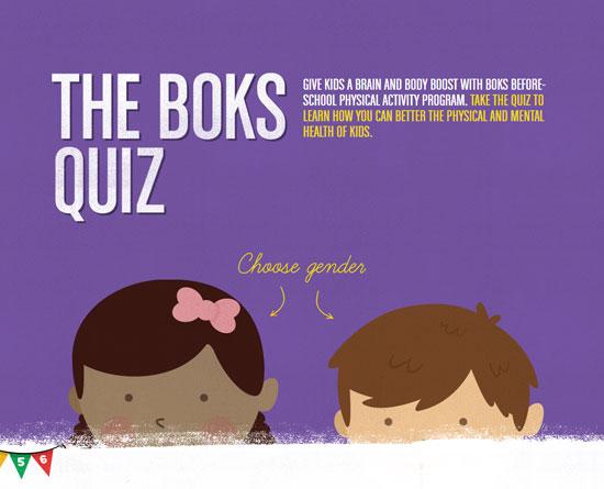 boksquiz.org site design
