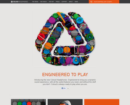 coloud.com site design