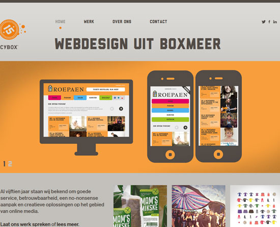 cybox.nl site design