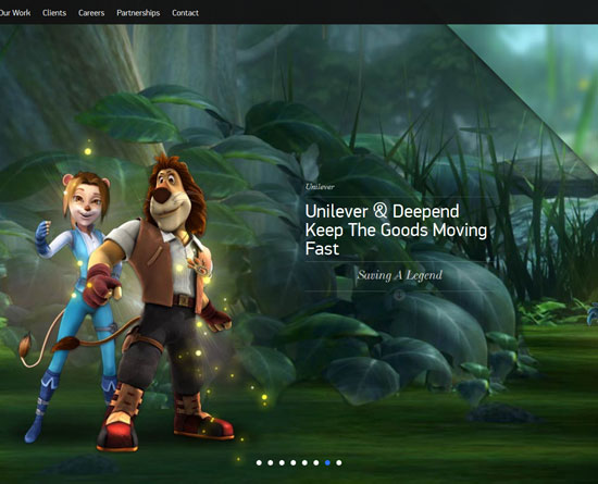 deepend.com.au site design