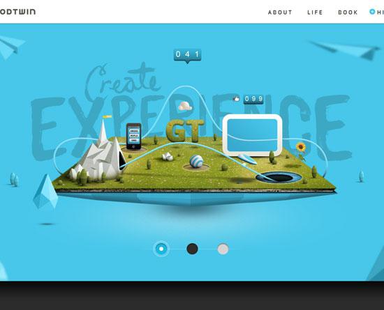 goodtwin.co site design