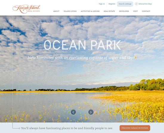 kiawahisland.com site design