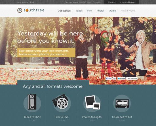 southtree.com site design
