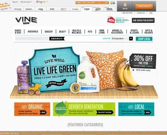 vine.com site design