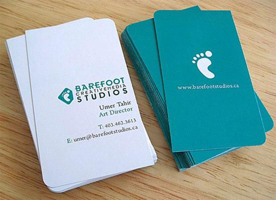 Barefoot Studios Business Card