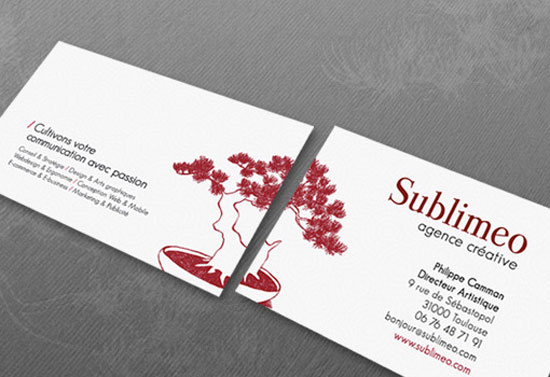 Sublimeo Business Card