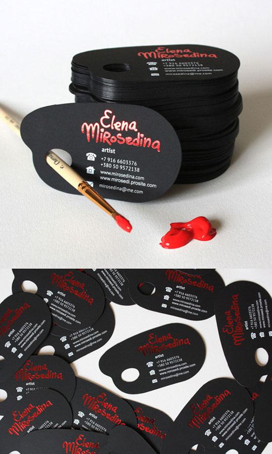 Elena Mirosedina Business Card