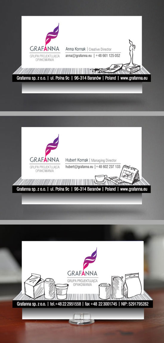 grafanna Business Card