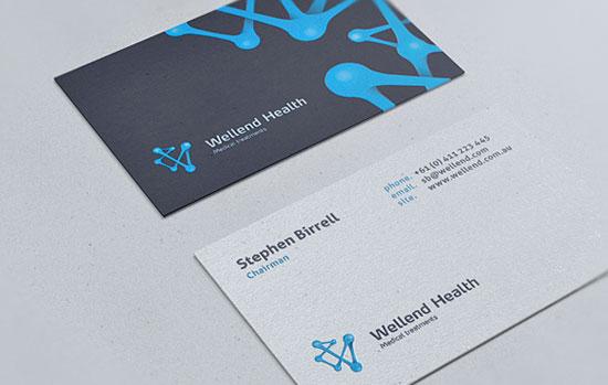 Wellend Health Business Card