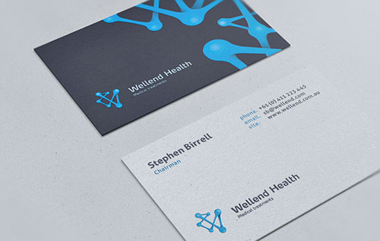 Wellend Health Business Card