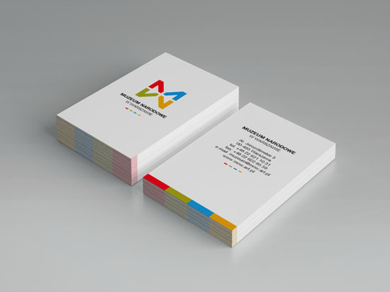 MNW - National Museum in Warsaw Business Card