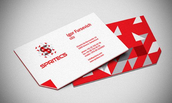 Spritecs Corporate Identity Business Card