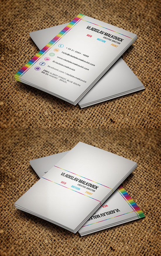 Creative Business Card Business Card