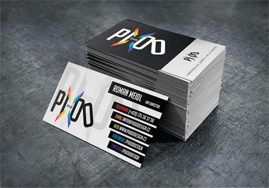 Pixoo Design Business Card