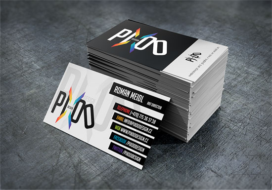 Pixoo Design Business Card