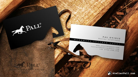 Atelier Pall Business Card Inspiration