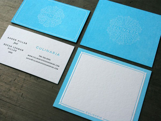 Culinaria Business Card Inspiration