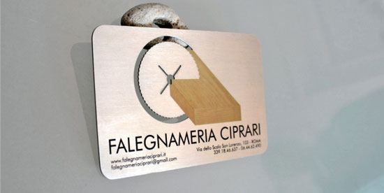 Falegnameria Ciprari Business Card Inspiration