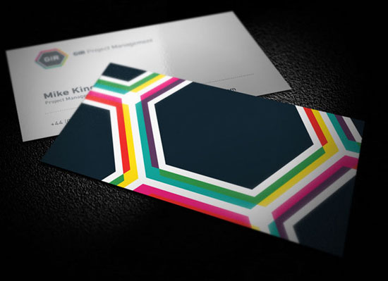GIR Project Management Business Card Inspiration