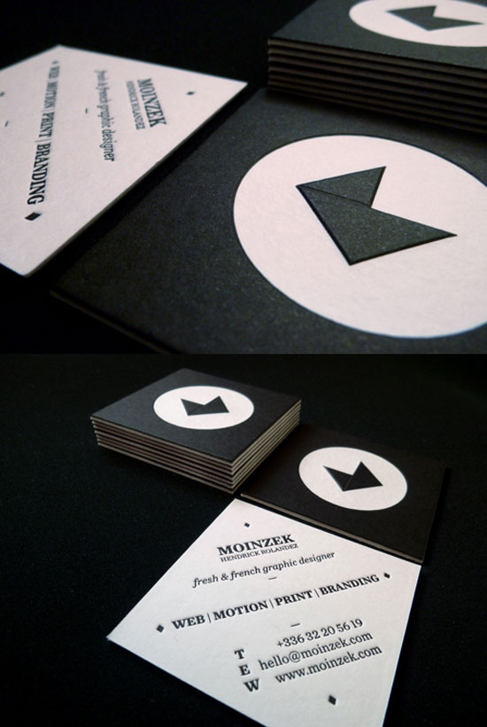 Hendrick Rolandez Business Card Inspiration