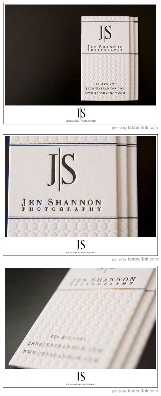 Jen Shannon Business Card Inspiration