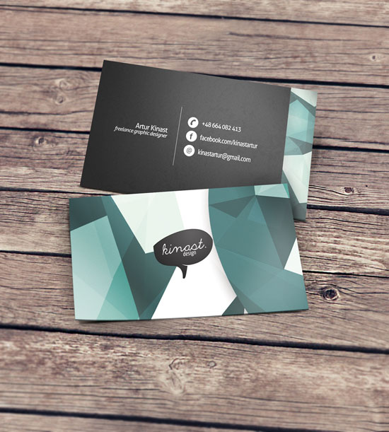 KinastDesign Business Card Inspiration