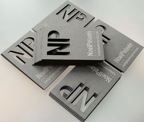 Noel Pelavin Business Card Inspiration