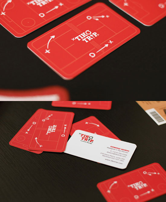 Tiko trip Business Card Inspiration