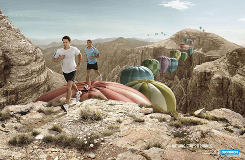 Decathlon-2 Advertisement Ideas: 500 anuncios creativos y geniales