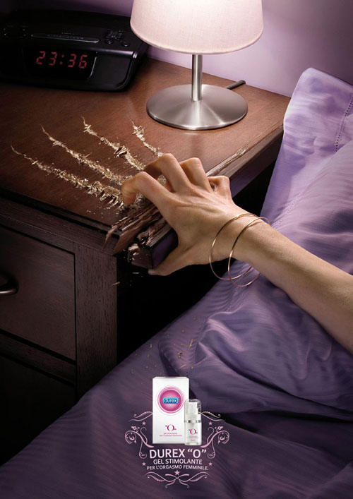 Durex-O-The-Power-of-pleasure Advertisement Ideas: 500 anuncios creativos y divertidos