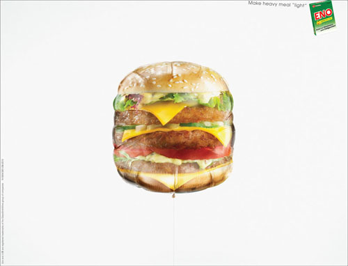 ENO --- Make-heavy-meal-light Ideas de publicidad: 500 anuncios creativos y geniales