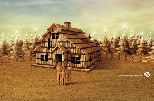 Ideas de publicidad de seguros-ETB: 500 anuncios creativos y geniales
