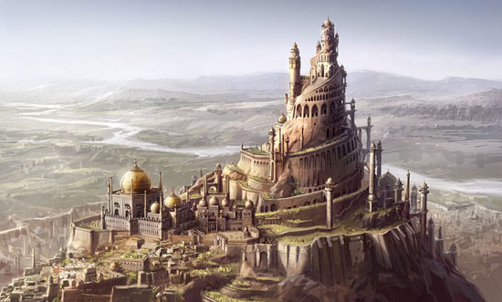 Concept art for Prince of Persia, Sands of time Drawing Illustration