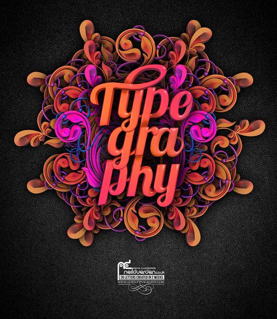 Creative Typography Graphic Design: Creative New Typographic Designs