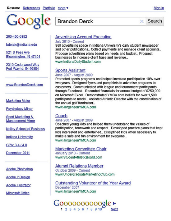 5435143636_292c8ae082_z graphic design resume best practices and 51 examples