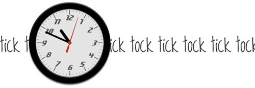 Old School Clock with CSS3 and jQuery