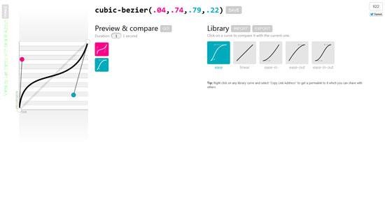 cubic-bezier