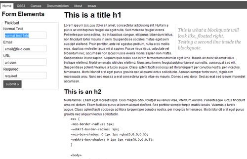 52framework CSS framework