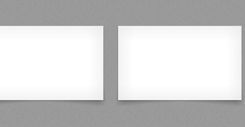 Pure CSS3 box-shadow page curl effect