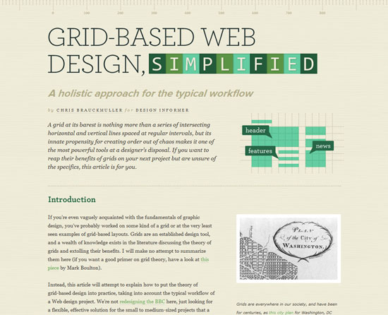 Grid-Based Web Design, Simplified Custom Post Design Inspiration