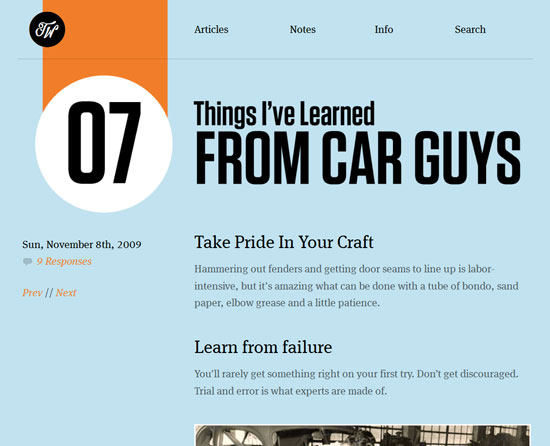 Things I've Learned From Car Guys Custom Post Design Inspiration