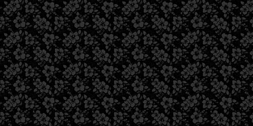 gothic flowers background tileable and seamless pattern