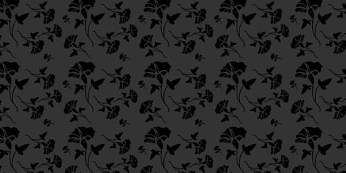 little black dress tileable and seamless pattern