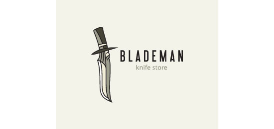 Blademan Logo Design