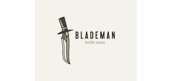 Blademan Logo Design