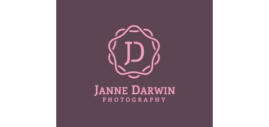 Janne Darwin Logo Design