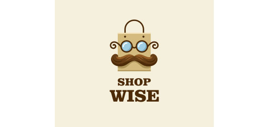 Shop Wise Logo Design