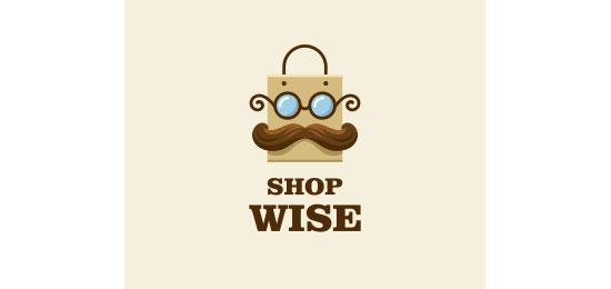 Shop Wise Logo Design